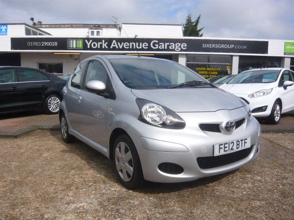 Image of Toyota Aygo Used Car For Sale on the Isle of Wight for Vehicle 4549