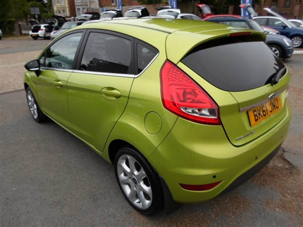Image of Ford Fiesta Used Car For Sale on the Isle of Wight for Vehicle 4942