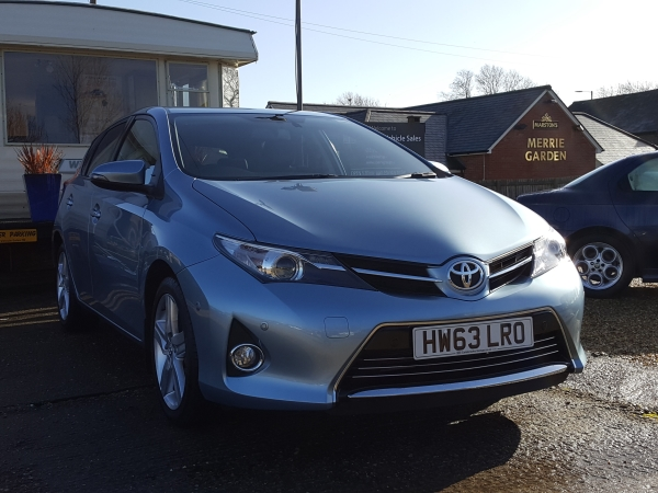 Image of Toyota Auris Used Car For Sale on the Isle of Wight for Vehicle 5035