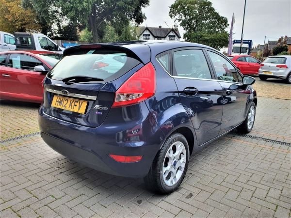 Image of Ford Fiesta Used Car For Sale on the Isle of Wight for Vehicle 5232