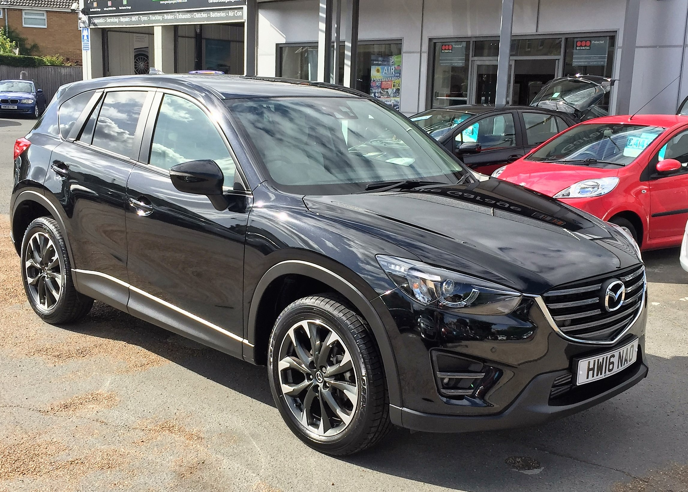 Image of Mazda CX-5 Used Car For Sale on the Isle of Wight for Vehicle 5465