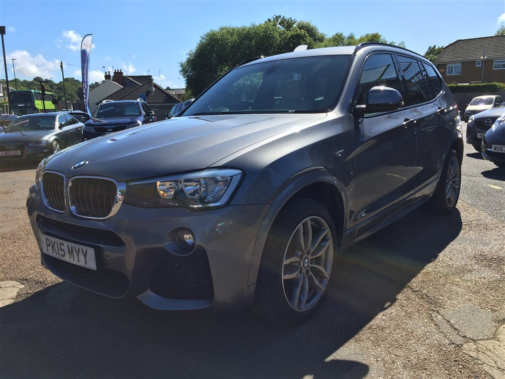 Image of BMW X3 Used Car For Sale on the Isle of Wight for Vehicle 5491