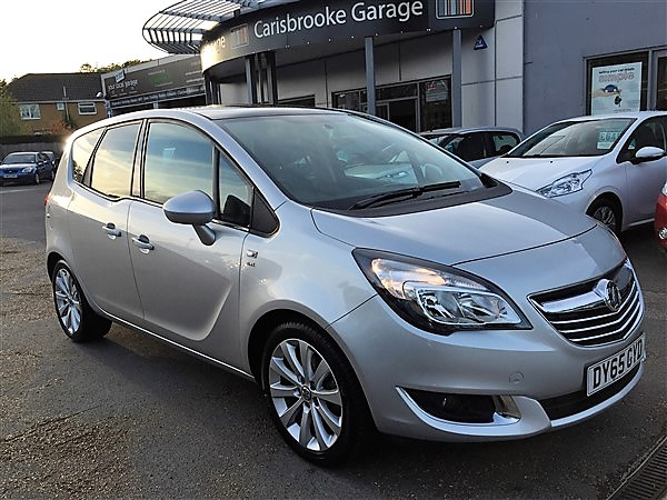 Image of Vauxhall Meriva Used Car For Sale on the Isle of Wight for Vehicle 5497