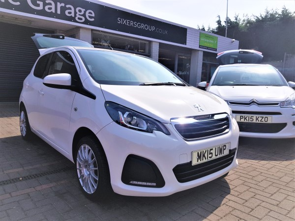 Image of Peugeot 108 Used Car For Sale on the Isle of Wight for Vehicle 5548