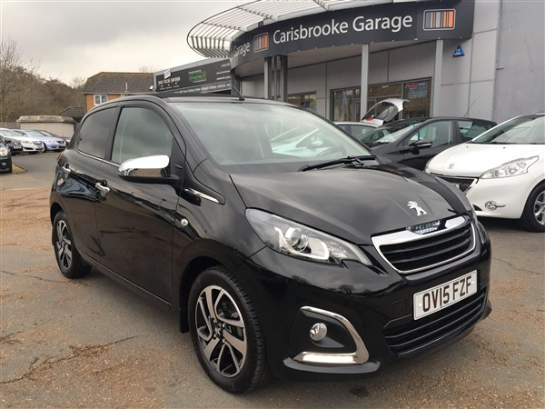 Image of Peugeot 108 Used Car For Sale on the Isle of Wight for Vehicle 5625