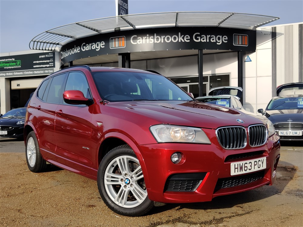 Image of BMW X3 Used Car For Sale on the Isle of Wight for Vehicle 5663
