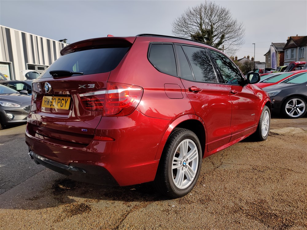 Car For Sale BMW X3 - HW63PGY Sixers Group Image #2