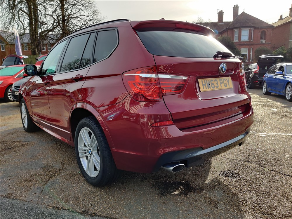 Car For Sale BMW X3 - HW63PGY Sixers Group Image #4