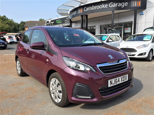 Image of Peugeot 108 Used Car For Sale on the Isle of Wight for Vehicle 5699