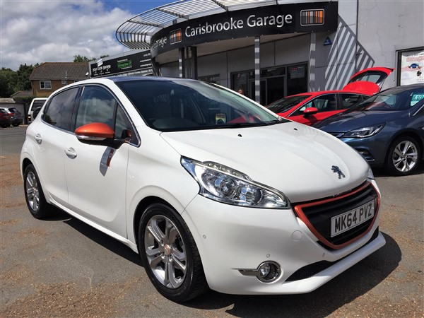 Image of Peugeot 208 Used Car For Sale on the Isle of Wight for Vehicle 5727