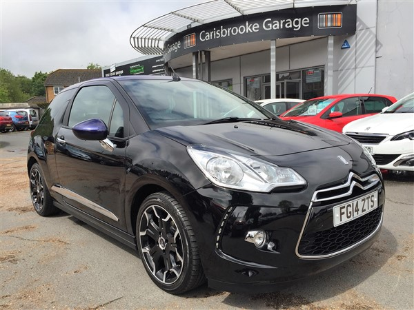 Image of Citroen DS3 Cabrio Used Car For Sale on the Isle of Wight for Vehicle 5743