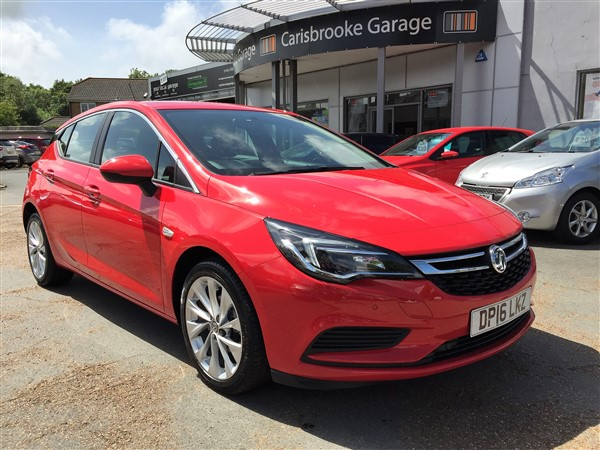 Image of Vauxhall Astra Used Car For Sale on the Isle of Wight for Vehicle 5758