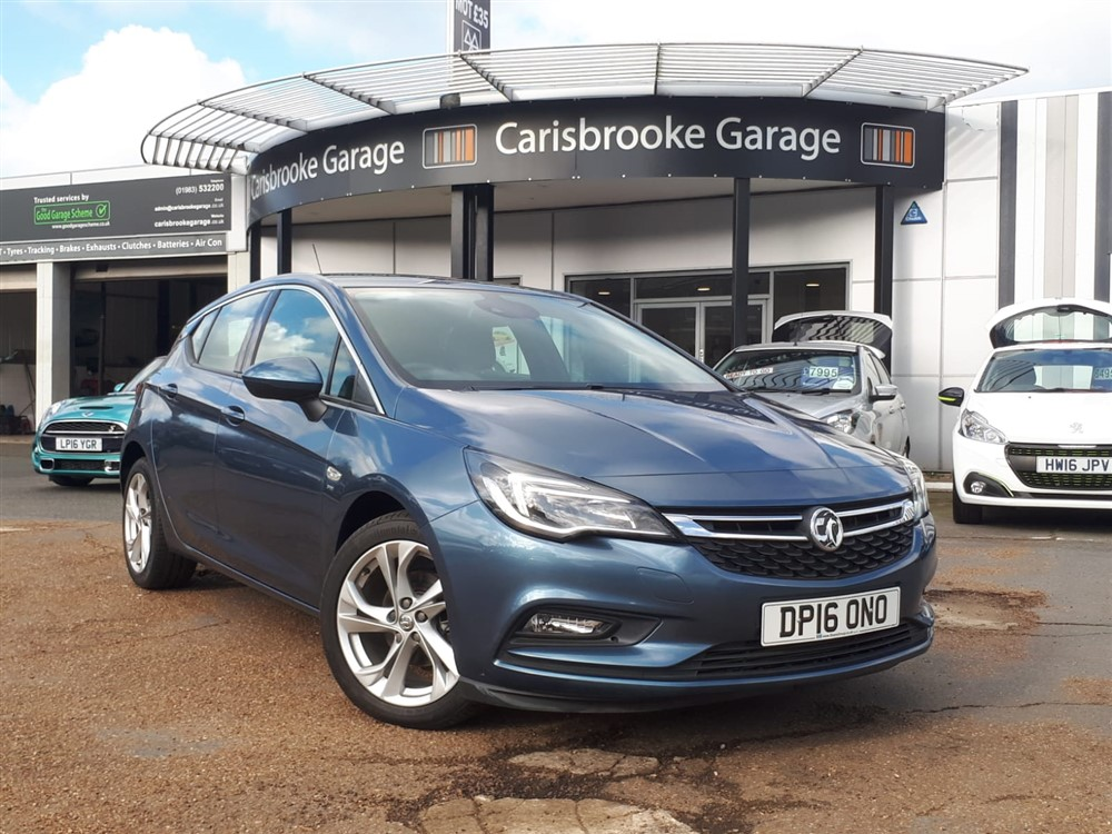 Image of Vauxhall Astra Used Car For Sale on the Isle of Wight for Vehicle 5760