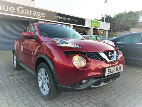 Image of Nissan Juke Used Car For Sale on the Isle of Wight for Vehicle 5768