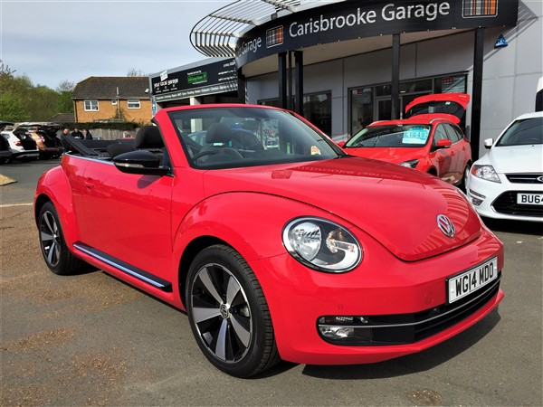 Image of Volkswagen Beetle Cabriolet Used Car For Sale on the Isle of Wight for Vehicle 5780