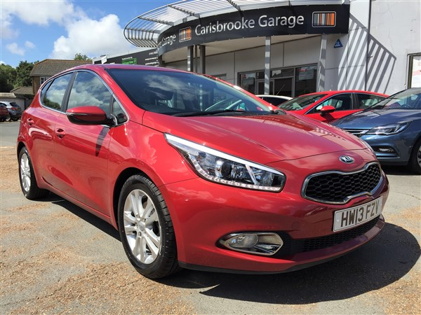 Image of Kia Ceed Used Car For Sale on the Isle of Wight for Vehicle 5799