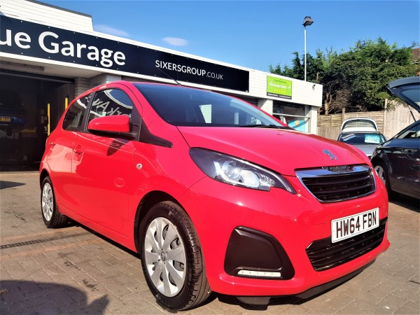 Image of Peugeot 108 Used Car For Sale on the Isle of Wight for Vehicle 5869