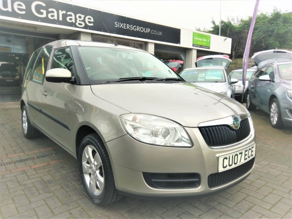 Image of Skoda Roomster 2  Used Car For Sale on the Isle of Wight for Vehicle 5907