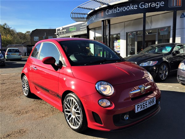 Image of Abarth 500 Used Car For Sale on the Isle of Wight for Vehicle 5913