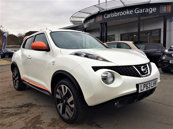 Image of Nissan Juke Used Car For Sale on the Isle of Wight for Vehicle 5937