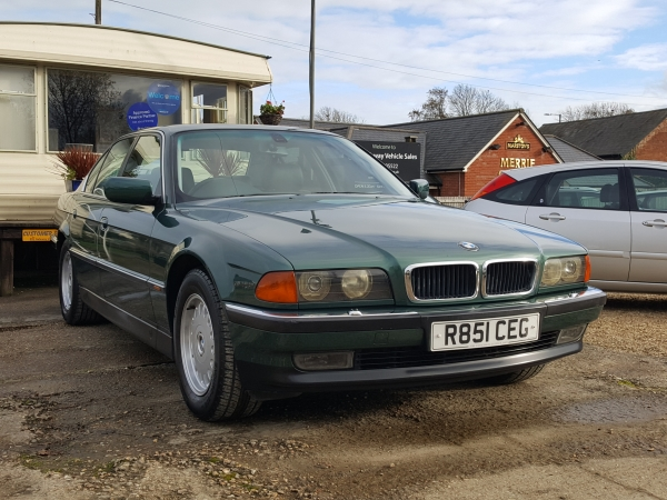 Image of BMW 735 Used Car For Sale on the Isle of Wight for Vehicle 5938