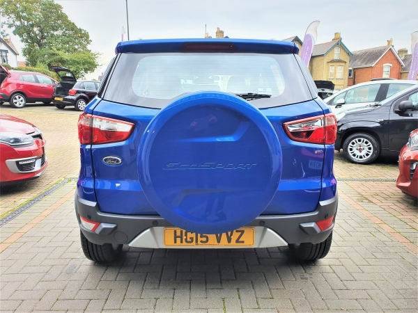 Image of Ford Ecosport Used Car For Sale on the Isle of Wight for Vehicle 5943