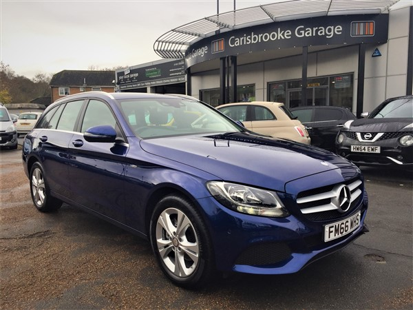 Image of Mercedes C-Class Estate Used Car For Sale on the Isle of Wight for Vehicle 5947