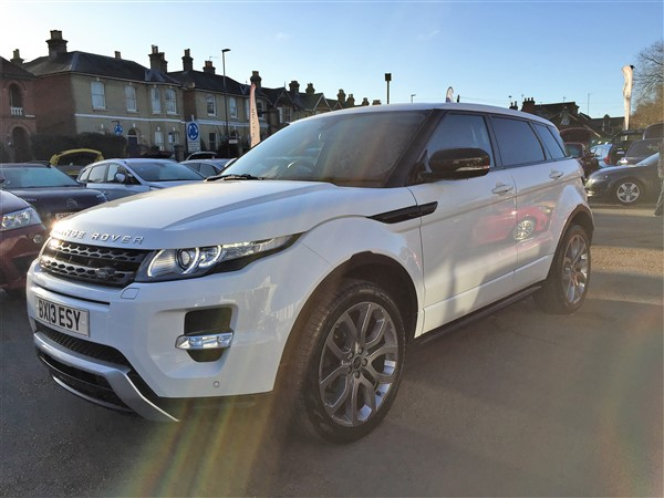 Image of Land Rover Range Rover Evoque Used Car For Sale on the Isle of Wight for Vehicle 5958