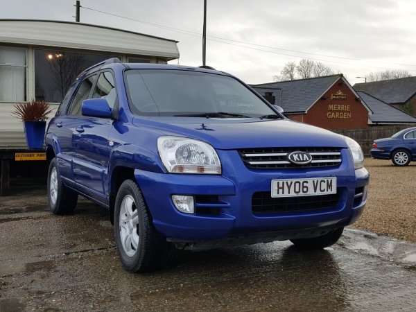 Image of Kia Sportage Used Car For Sale on the Isle of Wight for Vehicle 5970