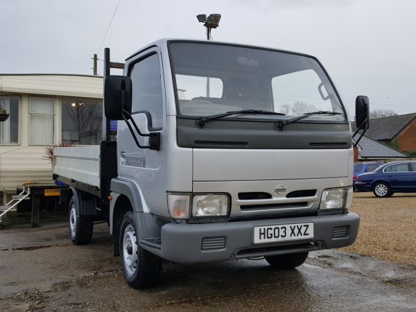Image of Nissan Cabstar Used Car For Sale on the Isle of Wight for Vehicle 5973