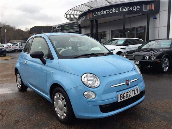 Image of Fiat 500 Used Car For Sale on the Isle of Wight for Vehicle 5985