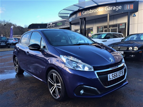 Image of Peugeot 208 Used Car For Sale on the Isle of Wight for Vehicle 6995