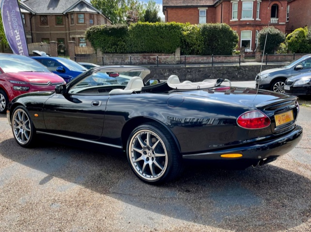 Car For Sale Jaguar XKR Convertible - VE54XKR Sixers Group Image #4