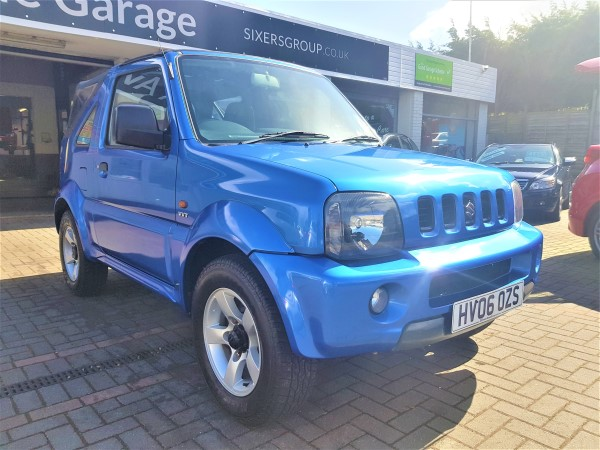 Image of Suzuki Jimny Used Car For Sale on the Isle of Wight for Vehicle 7053