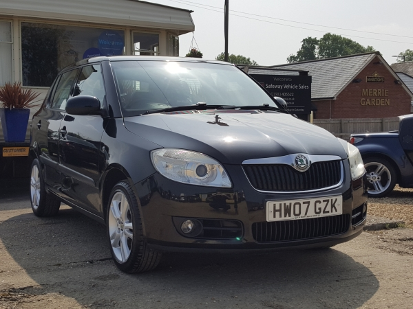 Image of Skoda Fabia Used Car For Sale on the Isle of Wight for Vehicle 7054