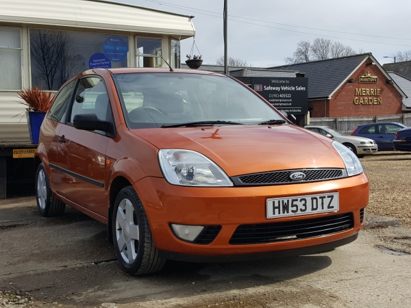 Image of Ford Fiesta Used Car For Sale on the Isle of Wight for Vehicle 7056