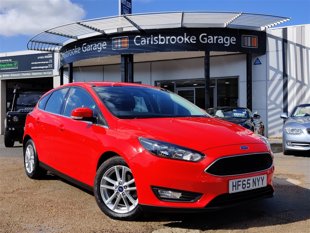 Image of Ford Focus Used Car For Sale on the Isle of Wight for Vehicle 7079