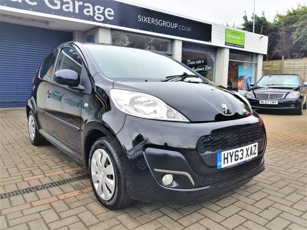 Used Car Peugeot 107 For Sale on the Isle of Wight Reg: HY63XAZ ...