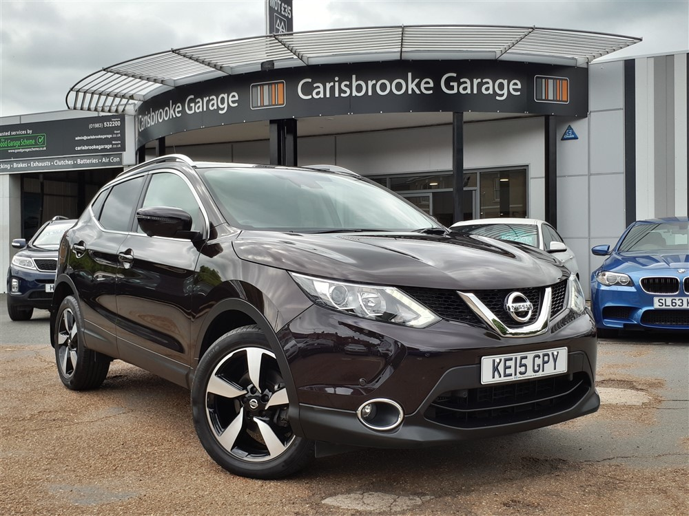 Image of Nissan Qashqai Used Car For Sale on the Isle of Wight for Vehicle 7105