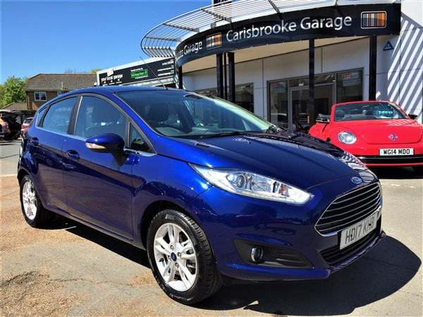 Image of Ford Fiesta Used Car For Sale on the Isle of Wight for Vehicle 7106