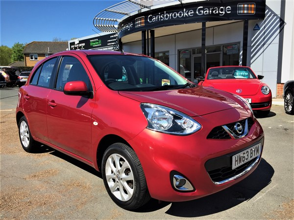 Image of Nissan Micra Used Car For Sale on the Isle of Wight for Vehicle 7111