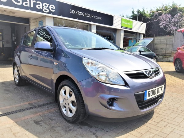 Image of Hyundai i-20 Used Car For Sale on the Isle of Wight for Vehicle 7128