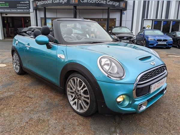 Car For Sale Mini Cooper S Convertible - LP16YGR Sixers Group Image #2
