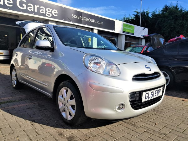 Image of Nissan Micra Used Car For Sale on the Isle of Wight for Vehicle 7148