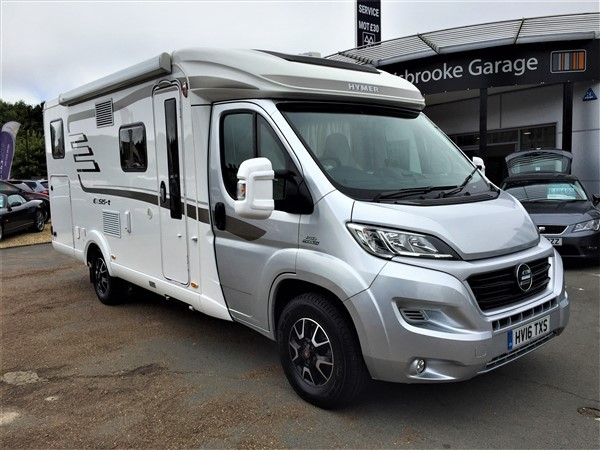 Image of Hymer Exsis T588 Used Car For Sale on the Isle of Wight for Vehicle 7166