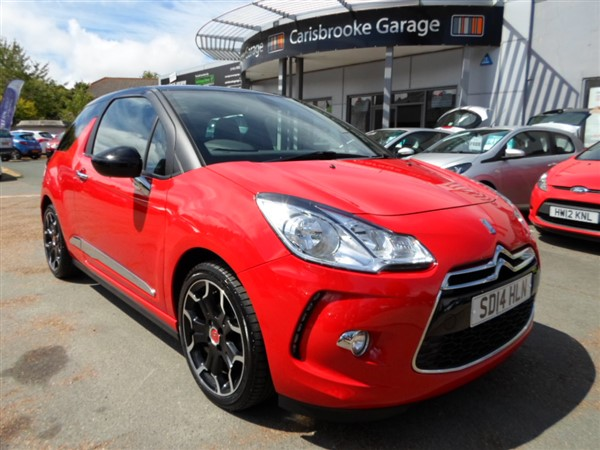 Image of Citroen DS3 Used Car For Sale on the Isle of Wight for Vehicle 7187