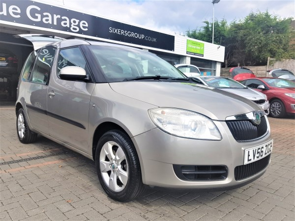 Image of Skoda Roomster 2  Used Car For Sale on the Isle of Wight for Vehicle 7219
