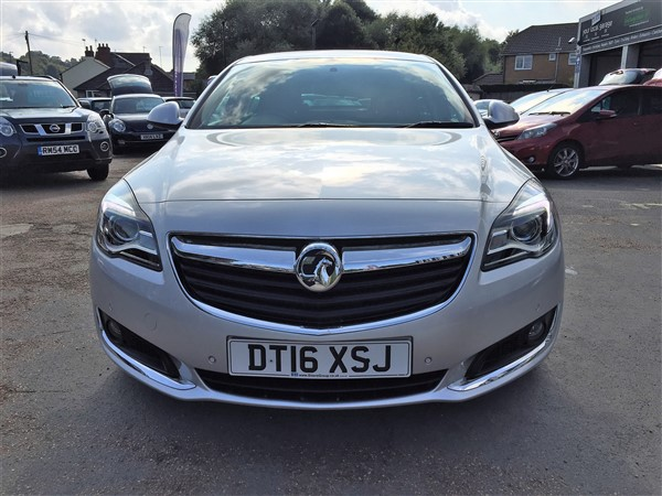Image of Vauxhall Insignia Used Car For Sale on the Isle of Wight for Vehicle 7226