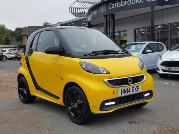 Image of Smart FourTwo Used Car For Sale on the Isle of Wight for Vehicle 7230