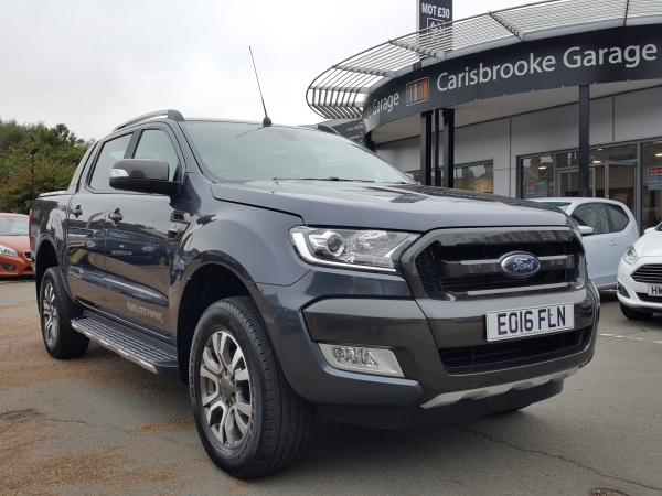 Image of Ford Ranger Used Car For Sale on the Isle of Wight for Vehicle 7240
